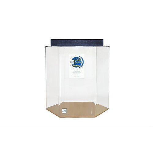55 gallon acrylic hexagon aquarium review aquariphiles for 55 gallon hexagon fish tank